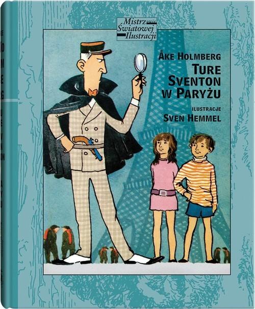 okładka Ture Sventon w Paryżuksiążka      Holmberg Ake