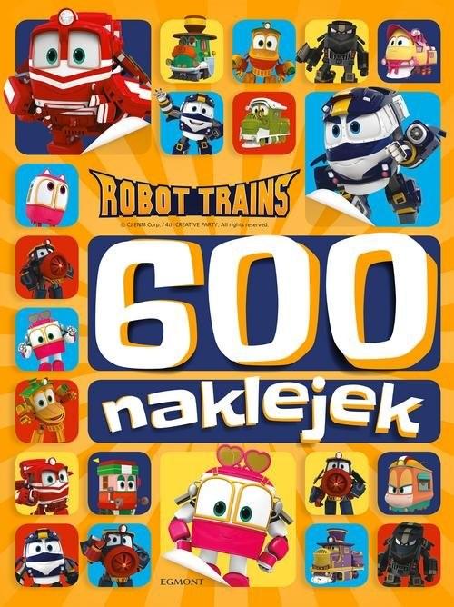 okładka Robot Trains 600 naklejekksiążka |  |