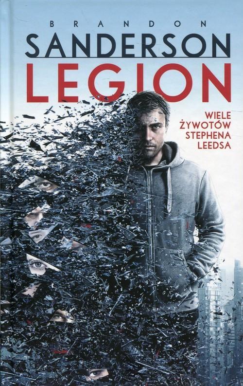 okładka Legion Wiele żywotów Stephena Leedsaksiążka |  | Brandon Sanderson