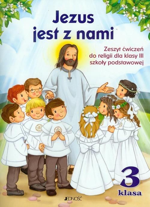 okładka Jezus jest z nami 3 Zeszyt ćwiczeń z płytą CD Szkoła podstawowaksiążka |  | Jerzy Snopek, Dariusz Kurpiński