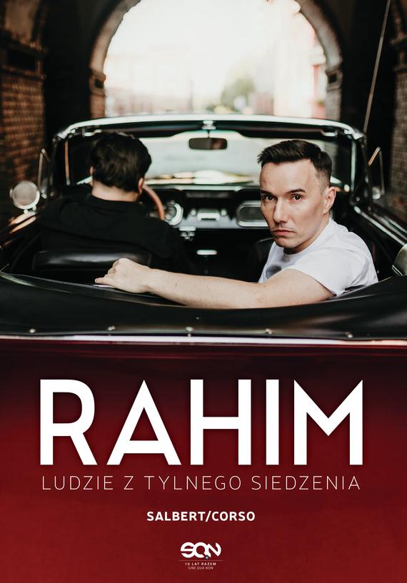 """okładka Rahim. Ludzie z tylnego siedzeniaebook   epub, mobi   Przemek Corso, Sebastian """"Rahim"""" Salbert"""