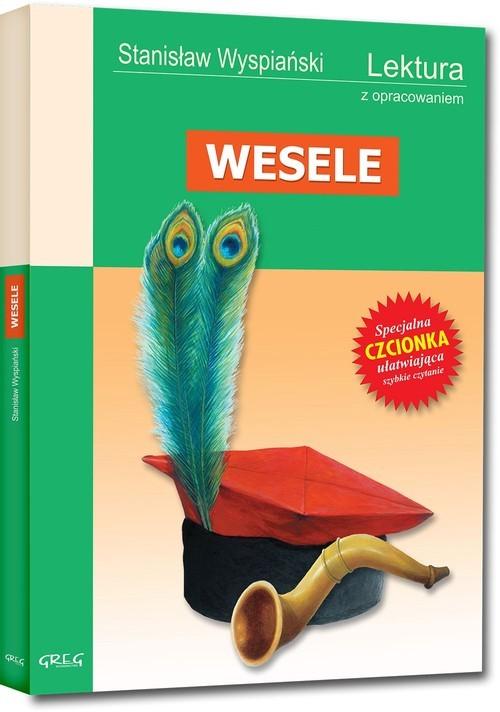 okładka Wesele z opracowaniemksiążka      Stanisław Wyspiański