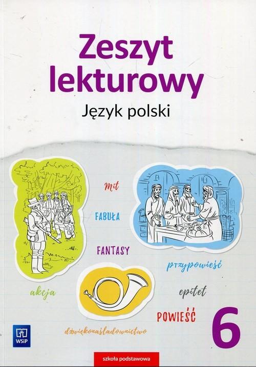 okładka Zeszyt lekturowy Język polski 6 Szkoła podstawowaksiążka      Beata Surdej, Andrzej Surdej