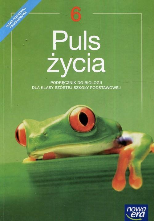 okładka Puls życia Biologia 6 Podręcznik Szkoła podstawowaksiążka |  | Stawarz Joanna