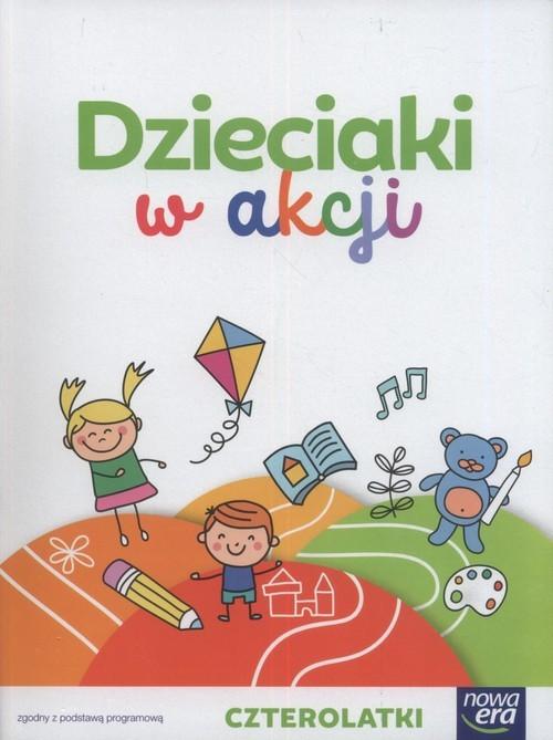 okładka Dzieciaki w akcji 4-latki BOX Wychowanie przedszkolneksiążka |  | Anna Stalmach-Tkacz, Karina Mucha