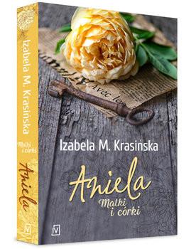 okładka Aniela książka      M. Krasińska Izabela