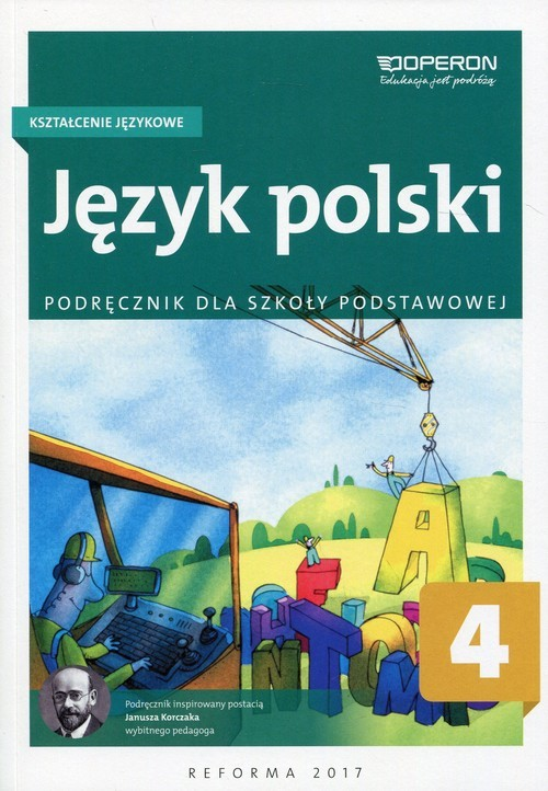 okładka Język polski 4 Kształcenie językowe Podręcznik Szkoła podstawowaksiążka |  | Małgorzata Białek