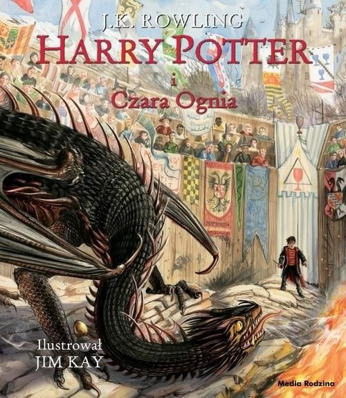 okładka Harry Potter i Czara Ognia ilustrowanaksiążka |  | Joanne K. Rowling