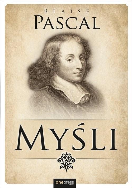 okładka Myśliksiążka      Blaise Pascal