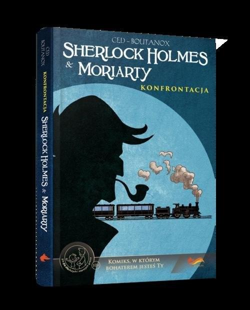 okładka Komiksy paragrafowe Sherlock Holmes & Moriarty Konfrontacjaksiążka     
