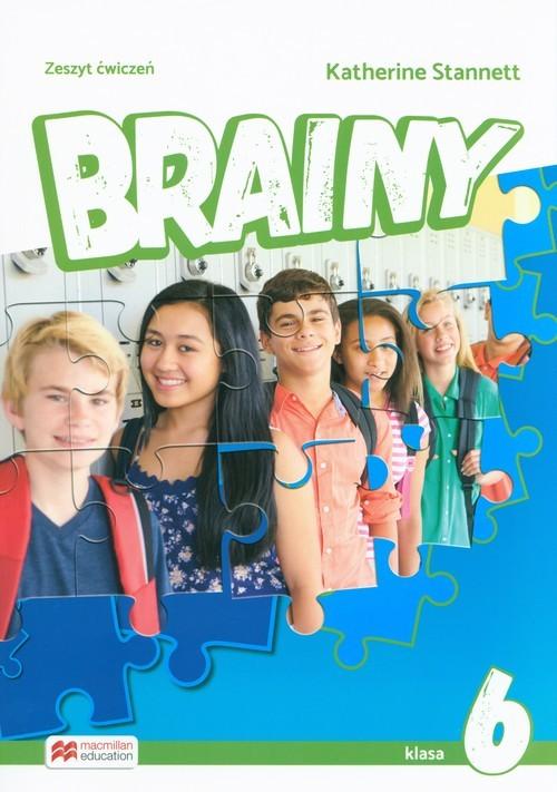 okładka Brainy 6 Zeszyt ćwiczeń Szkoła podstawowaksiążka      Stannett Katherine