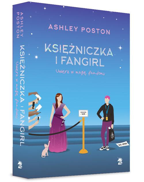 okładka Księżniczka i fangirlksiążka |  | Poston Ashley