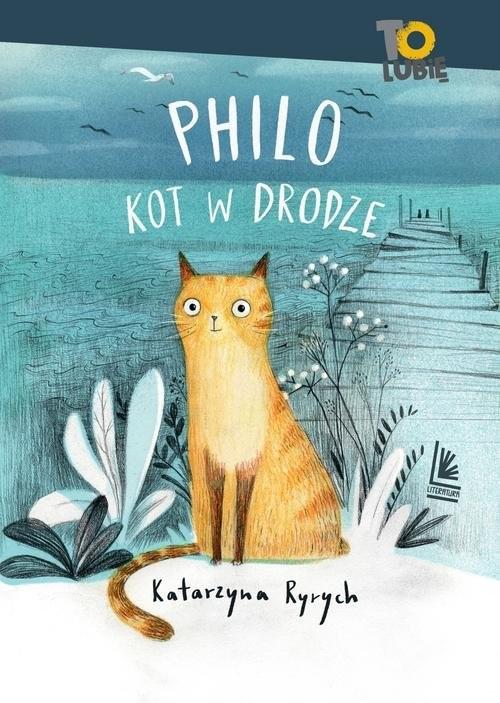 okładka Philo kot w drodzeksiążka      Katarzyna  Ryrych
