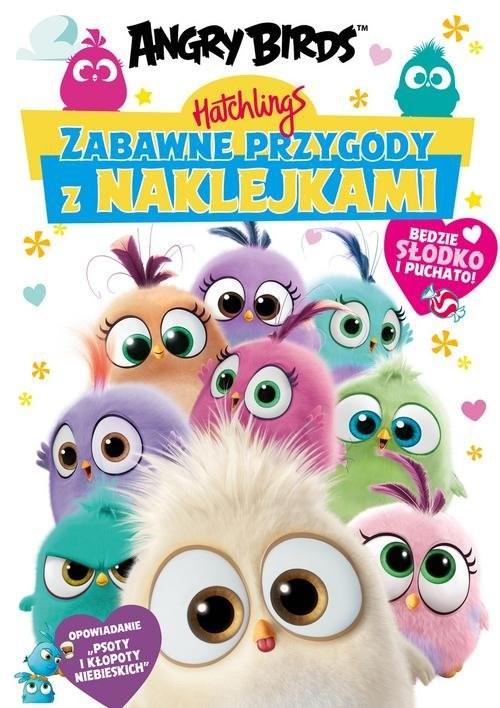 okładka Angry Birds. Hatchlings. Zabawne przygody z naklejkamiksiążka |  | Opracowanie zbiorowe
