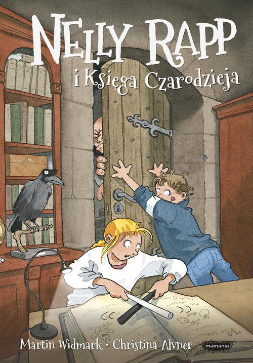 okładka Nelly Rapp i księga czarodziejaksiążka |  | Martin Widmark