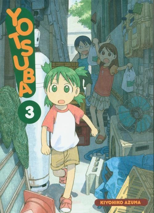 okładka Yotsuba! 3książka      Kiyohiko Azuma