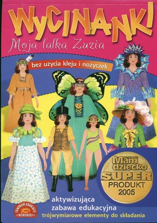 okładka Moja lalka Zuzia Wycinankiksiążka      Szarf Maria