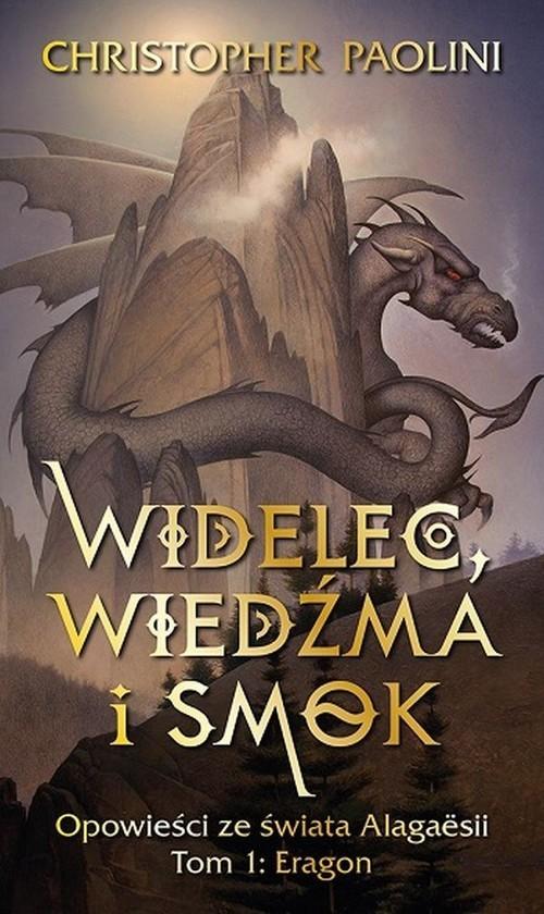 okładka Widelec Wiedźma i smok Opowieści ze świata Alagaesii Tom 1 Eragonksiążka      Paolini Christopher
