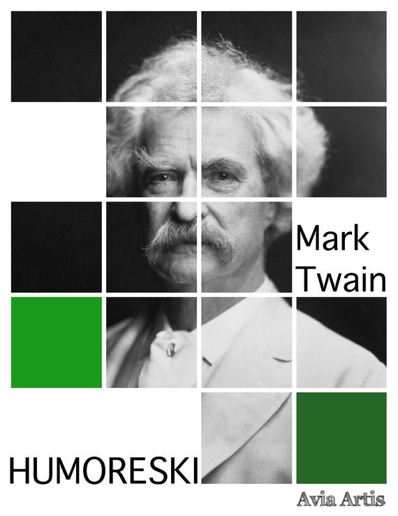 okładka Humoreskiebook | epub, mobi | Mark Twain