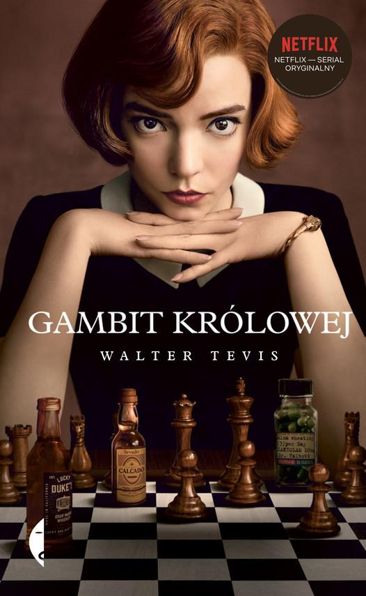 okładka Gambit królowejebook   epub, mobi   Tevis Walter