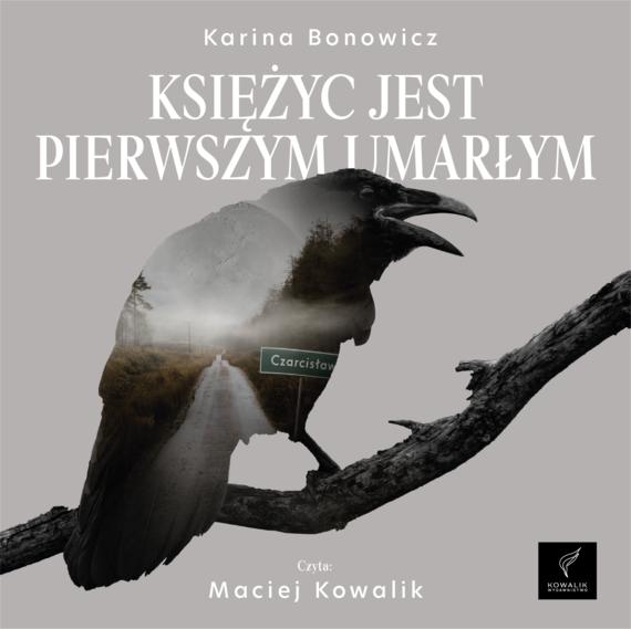 okładka Księżyc jest pierwszym umarłymaudiobook | MP3 | Karina Bonowicz