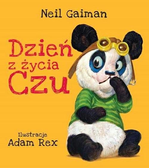 okładka Dzień z życia Czuksiążka      Neil Gaiman
