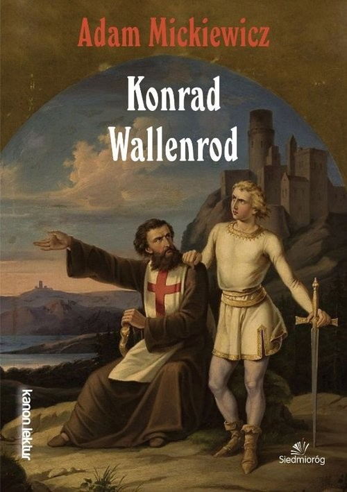 okładka Konrad Wallenrodksiążka      Adam Mickiewicz