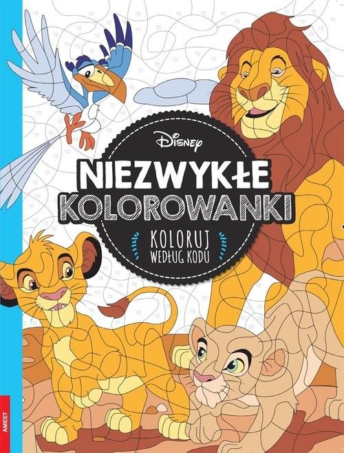 okładka Disney Classic Niezwykłe kolorowanki. Koloruj według koduksiążka |  |