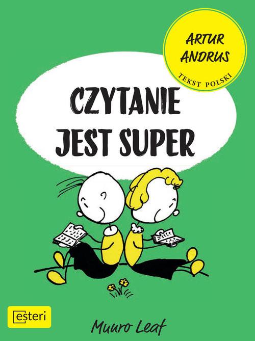 okładka Czytanie jest superksiążka |  | Leaf Munro
