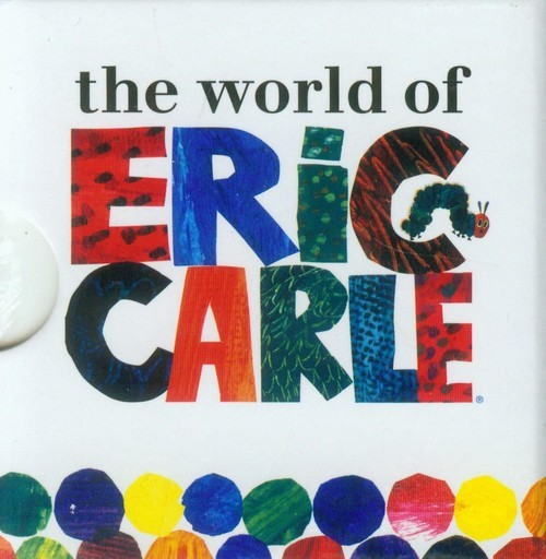 okładka Very Hungry Caterpillar Little Learning Libraryksiążka      Carle Eric