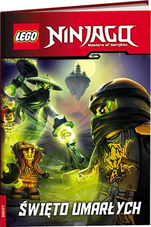 okładka Lego Ninjago Święto umarłych LNRD-14książka      Kate Howard, Greg Farshtey
