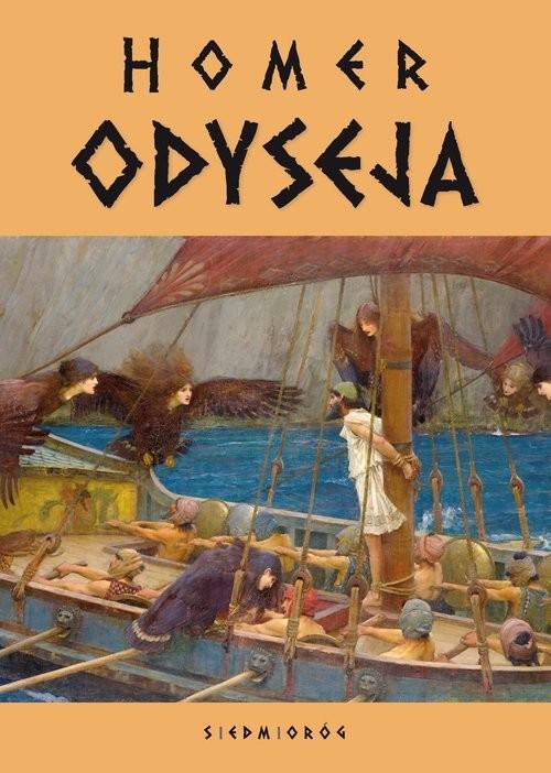 okładka Odysejaksiążka      Homer