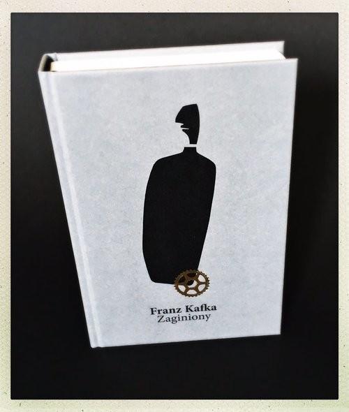 okładka Zaginionyksiążka      Franz Kafka