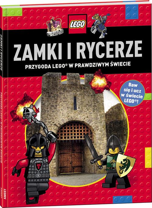 okładka Lego Zamki i rycerze LDJ-1 Przygoda Lego w prawdzywm świecieksiążka     