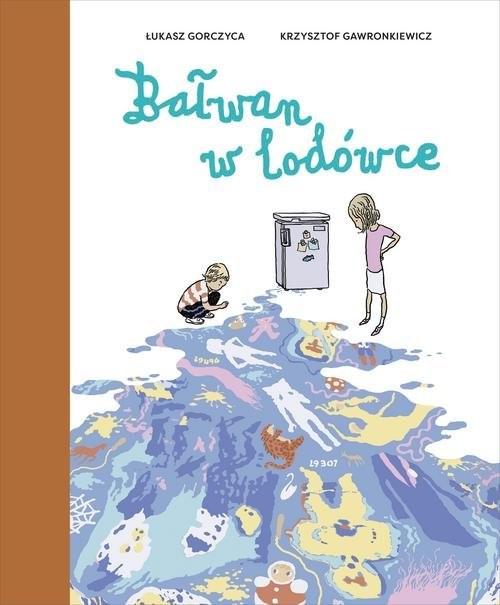 okładka Bałwan w lodówceksiążka      Łukasz Gorczyca