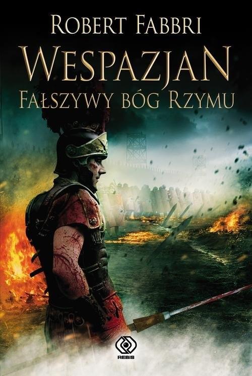 okładka Wespazjan Fałszywy Bóg Rzymuksiążka      Robert Fabbri