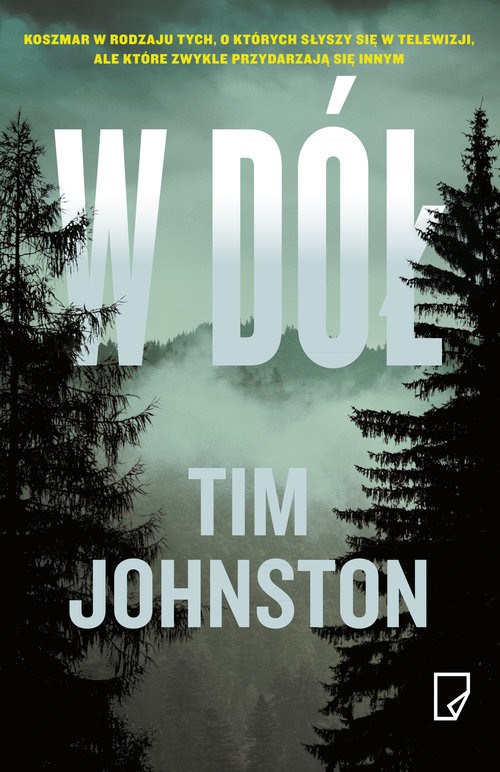 okładka W dółksiążka      Tim Johnston