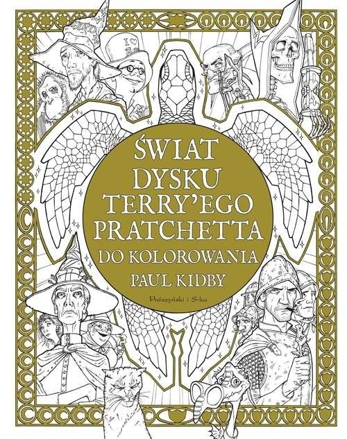 okładka Świat Dysku Terry'ego Pratchetta do kolorowaniaksiążka |  | Paul Kidby, Terry Pratchett