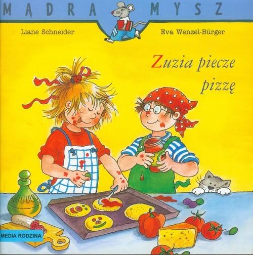 okładka Zuzia piecze pizzęksiążka |  | Liane Schneider, Burge Wenzel