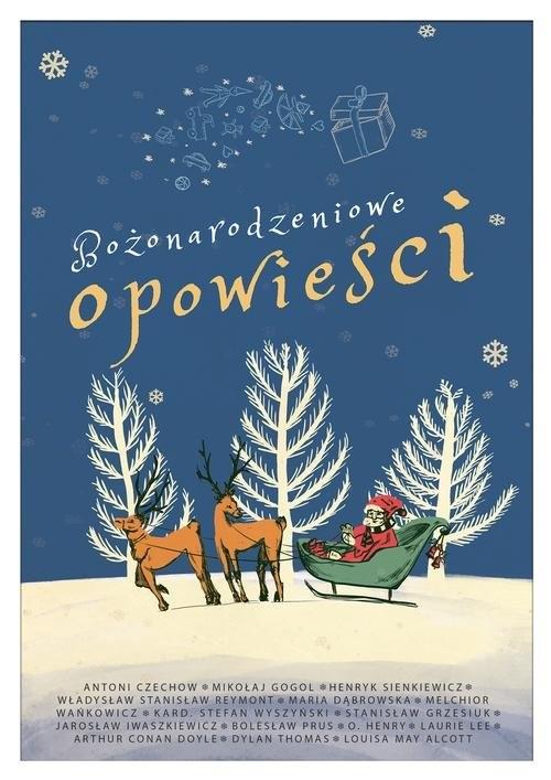 okładka Bożonarodzeniowe opowieściksiążka     