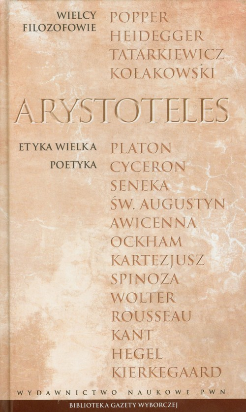okładka Wielcy Filozofowie 2 Etyka wielka Poetykaksiążka |  | Arystoteles