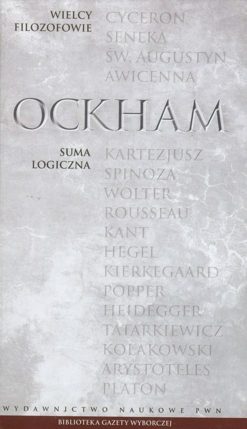 okładka Wielcy Filozofowie 9 Suma logicznaksiążka |  | Ockham