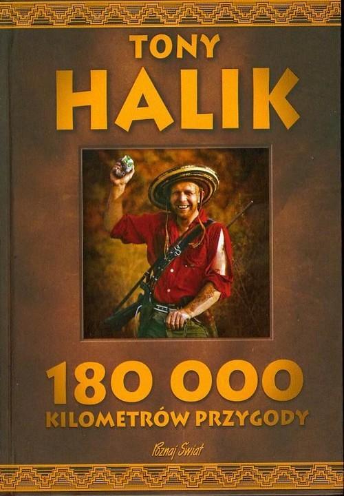 okładka 180 000 kilometrów przygodyksiążka |  | Halik Tony