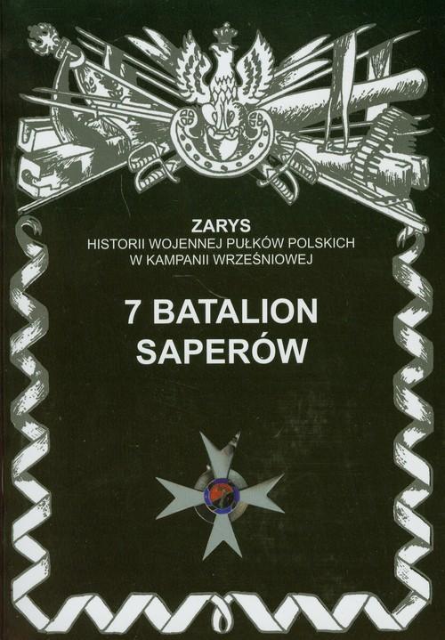 okładka 7 Batalion Saperówksiążka      Dymek Przemysław