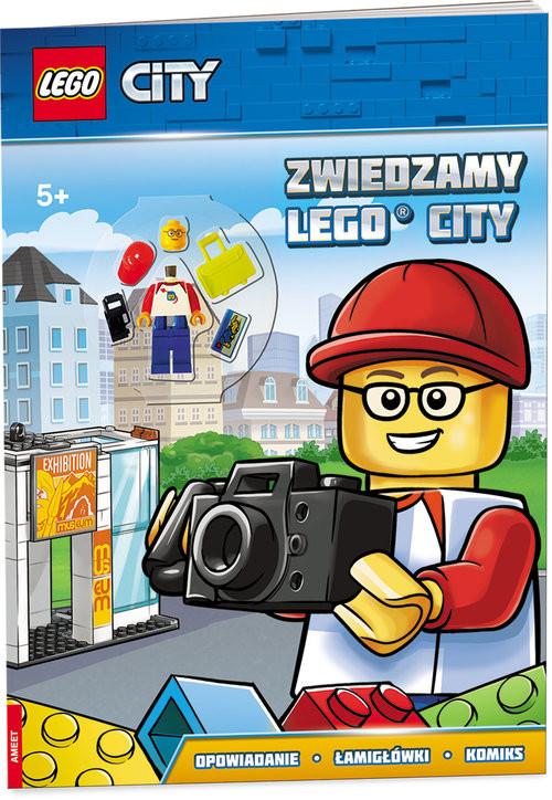 okładka Lego City Zwiedzamy Lego City LMJ-17książka |  |
