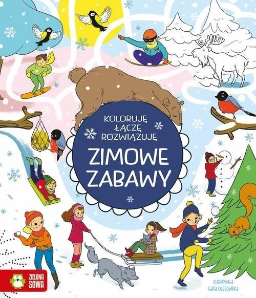 okładka Zimowe zabawyksiążka      Wojtkowiak-Skóra Patrycja