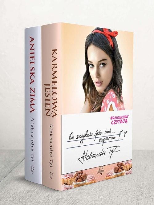 okładka Dziewczyny czytają: Karmelowa jesień / Anielska zima Pakietksiążka |  | Aleksandra  Tyl