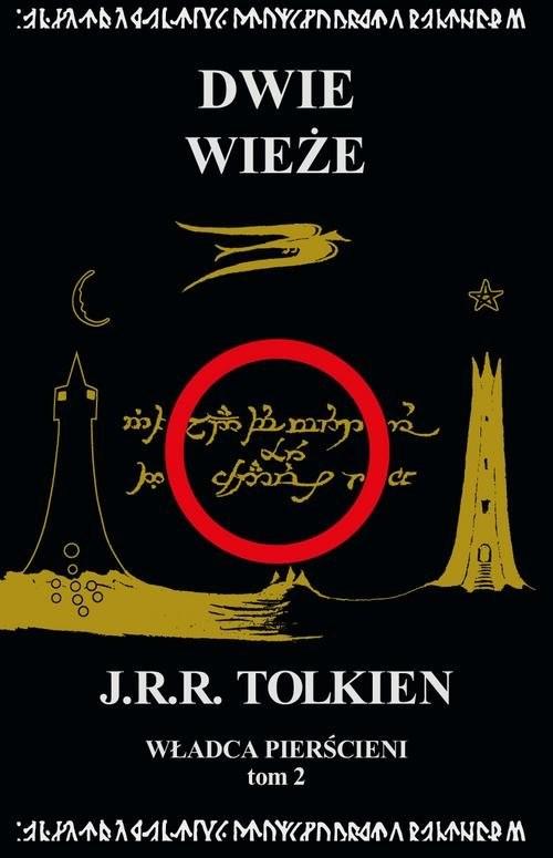 okładka Władca Pierścieni Tom 2 Dwie wieżeksiążka |  | J.R.R.  Tolkien