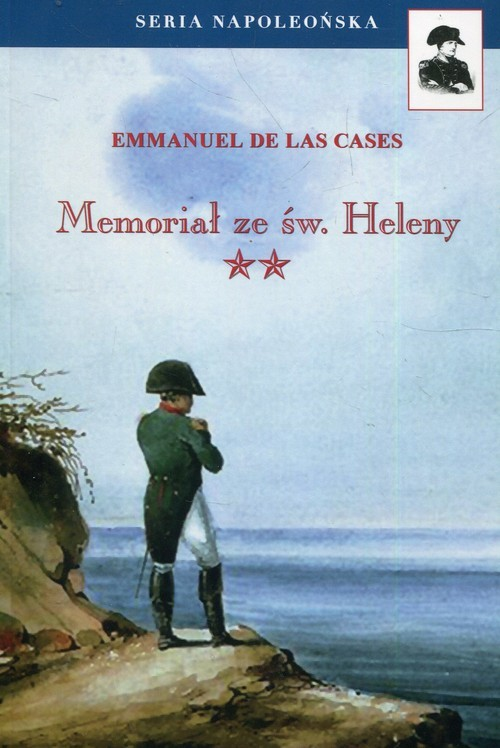 okładka Memoriał ze św. Heleny Tom 2książka      Las Cases Emmanuel De