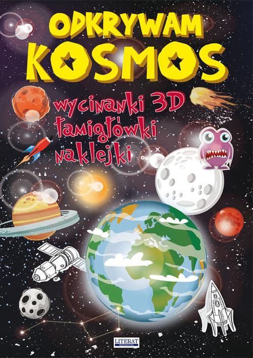 okładka Odkrywam Kosmos Wycinanki 3D, łamigłówki, naklejkiksiążka |  | Jerzy Rafalski, Beata  Guzowska